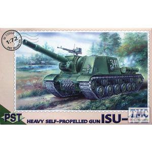 PST 1:72 Heavy Self-propelled Gun ISU-152 No 72004 (Pre owned)