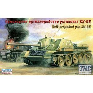 Eastern Express No. 72014 1:72 Self-propelled gun SU-85 (Pre owned)