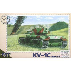 PST 1:72 KV-1C  Heavy Tank No 72035 (Pre owned)