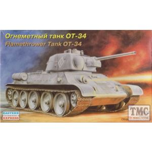 Eastern Express No. 72052 1:72 Flamethrower Tank OT-34 (Pre owned)