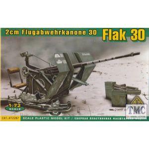 ACE 1:72 2cm Flugabwehrkanone 30 Flak 30 Model Kit no 72287 (Pre owned)