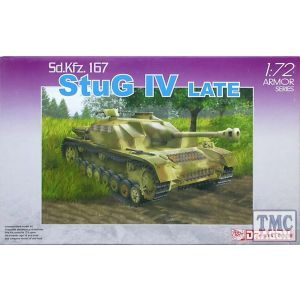 Dragon 1:72 Sd.Kfz. 167 StuG IV Late No 7260 (Pre owned)