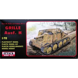 72801 Attack Hobby Kits 15cm sIG 33(Sf) auf PzKpfw 38 (t) Grille Ausf. H 1:72 (Pre owned)