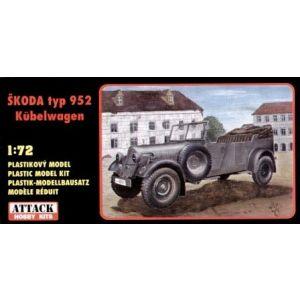 72801 Attack Hobby Kits Skoda Typ 952 Kübelwagen 1:72 (Pre owned)