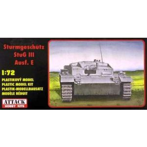 72816 Attack Hobby Kits Sturmgeschütz StuG III Ausf. E Kit 1:72 (Pre owned)