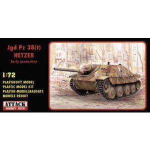 72830 Attack Hobby Kits Jgd Pz 38(t) Hetzer Kit 1:72 (Pre owned)