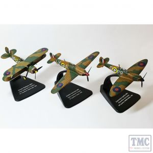 72SET01A Oxford Diecast 1:72 Scale Battle of Britain 75th Anniversary Set