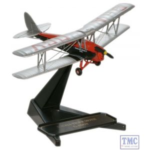 72TM002 Oxford Diecast 1:72 Scale DH82 Tiger Moth Brooklands Aviation