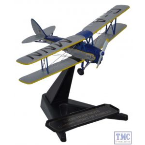 72TM007 Oxford Diecast 1:72 Scale DH82 Tiger Moth G-AMNN Spirit of Pashley
