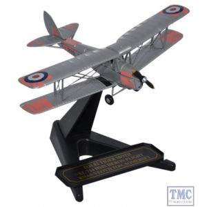 72TM008 Oxford Diecast 1:72 Scale DH82 Tiger Moth XL 714 HMS Heron Flight