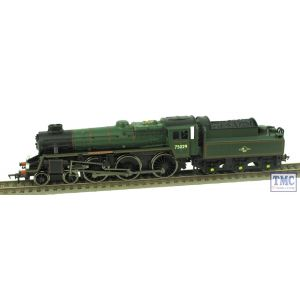 Bachmann OO Gauge Standard Class 4MT 'The Green Knight' 75029 BR Green L/Crest (Non-Runner)(Pre-owned)