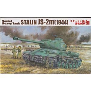 Fujimi Soviet Heavy Tank STALIN JS-2m (1944) Kit No 76071 (Pre owned)