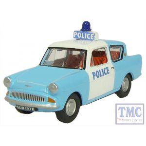 76105003 Oxford Diecast Anglia Police Panda 1/76 Scale OO Gauge
