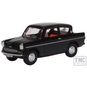 76105009 Oxford Diecast 1:76 Scale OO Gauge Ford Anglia 105E Black
