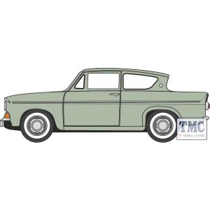 76105010 Oxford Diecast  Ford Anglia Spruce Green