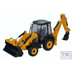 763CX001 Oxford Diecast 1:76 Scale OO Gauge JCB 3CX Eco Backhoe Loader JCB
