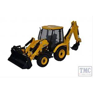 763CX004 Oxford Diecast 1:76 Scale JCB Eco Backhoe Loader