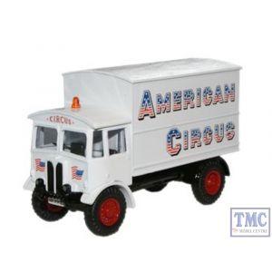 76AEC007 Oxford Diecast 1:76 Scale American Circus AEC Matador Generator