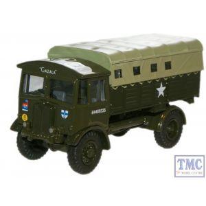 76AEC008 Oxford Diecast British Army AEC Matador Artillery Tractor 1/76 Scale OO Gauge
