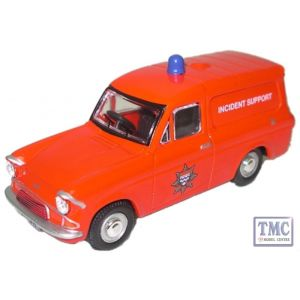 76ANG022 Oxford Diecast 1:76 Scale Fire Van - Anglia