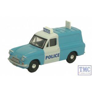 76ANG030 Oxford Diecast Hull City police Anglia Van 1/76 Scale OO Gauge