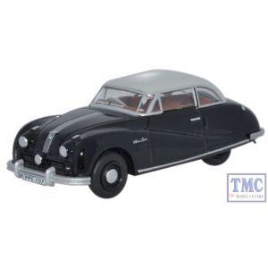 76ATL003 Oxford Diecast Austin Atlantic Saloon Black/Grey 1/76 Scale OO Gauge