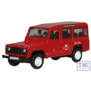 76DEF002 Oxford Diecast Royal Mail L/Rover Defender 1/76 Scale OO Gauge
