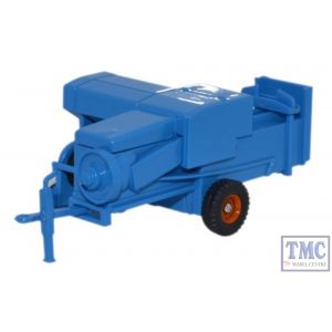 76FARM006 Oxford Diecast 1:76 Scale Baler Blue