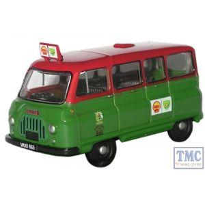 76JA008 Oxford Diecast 1:76 Scale Shell-Mex & BP Ltd Austin J2 Minibus J2 Austin