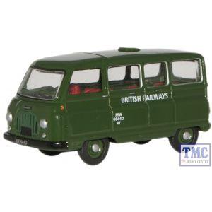 76JM007 Oxford Diecast British Railways Morris J2 Van 1/76 Scale OO Gauge