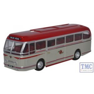 76LRT006 Oxford Diecast Leyland Royal Tiger Coach Lough Swilly 1/76 Scale OO Gauge