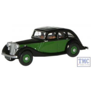 76RK003 Oxford Diecast 1:76 Scale Green/Black Riley Kestrel