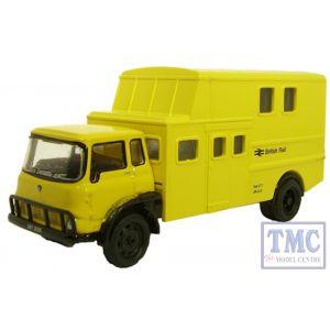 76TK003 Oxford Diecast British Rail Yellow Bedford TK 1/76 Scale OO Gauge