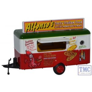 76TR012 Oxford Diecast 1:76 Scale OO Gauge Mobile Trailer Alfonsos