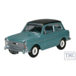 76AA005 Oxford Diecast 1/76 Scale OO Gauge Austin A40 MkII Horizon Blue Black