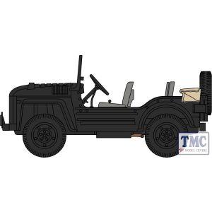 76AC003 Oxford Diecast  Austin Champ Royal Military Police Berlin 1954