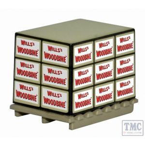76ACC005 Oxford Diecast OO Gauge Pallet/Loads Wills Woodbine * 4