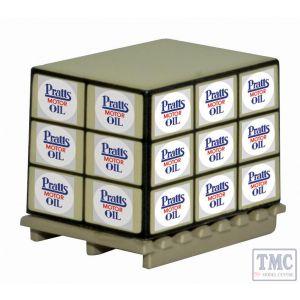 76ACC008 Oxford Diecast OO Gauge Pallet/Loads Pratts Motor Oil * 4