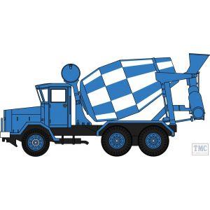 76ACM001 Oxford Diecast OO Gauge 1:76 Scale AEC 690 Cement Mixer Blue