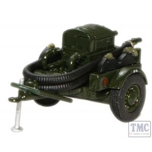 76CCP002 Oxford Diecast 1/76 Scale OO Gauge Green AFS Coventry Climax Pump Trailer