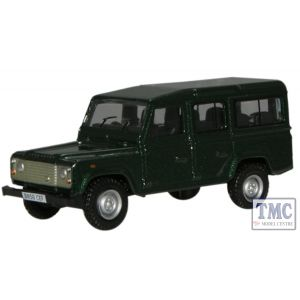 76DEF001 Oxford Diecast OO Gauge Land Rover Defender Green
