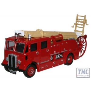 76REG005 Oxford Diecast 1:76 Scale AEC Regent Fire Engine West Ham