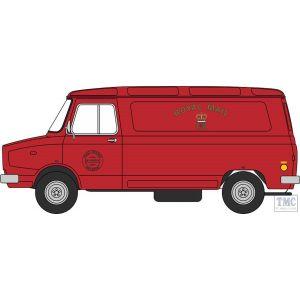 76SHP011 Oxford Diecast OO Gauge 1:76 Scale Royal Mail Sherpa Van