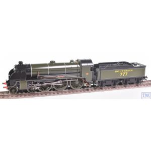Hornby OO Gauge 4-6-0 Sir Lamiel 777 SOUTHERN Green Crew Coal Renamed/Renumbered & Glossed by TMC (R2723)(Pre-owned)