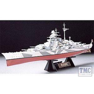 78015 Tamiya Tirpitz with stand