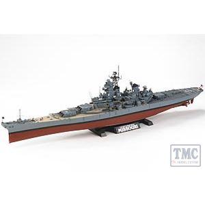 78029 Tamiya USS Missouri 1991 1:35 Scale0 SHIPS