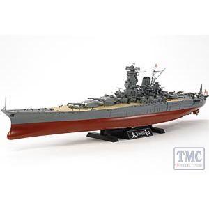 78030 Tamiya Yamato [original moulds improved !] 1:35 Scale0 SHIPS