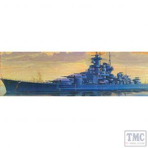 Tamiya 1/700 Water Line Series Gneisenau Battlecruiser Kit No 120 (Pre owned)