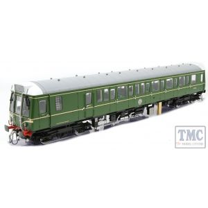 7D-015-005S Dapol O Gauge #P# Class 122 BR Green Speed Whiskers (DCC-Sound)