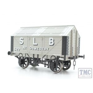 7F-017-003 Dapol O Gauge Lime Wagon S L B Oswestry
